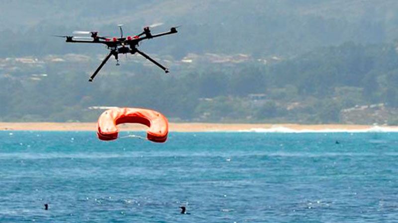 Ángel tecnológico. Dron Socorrista. gCardio desfibriladores.