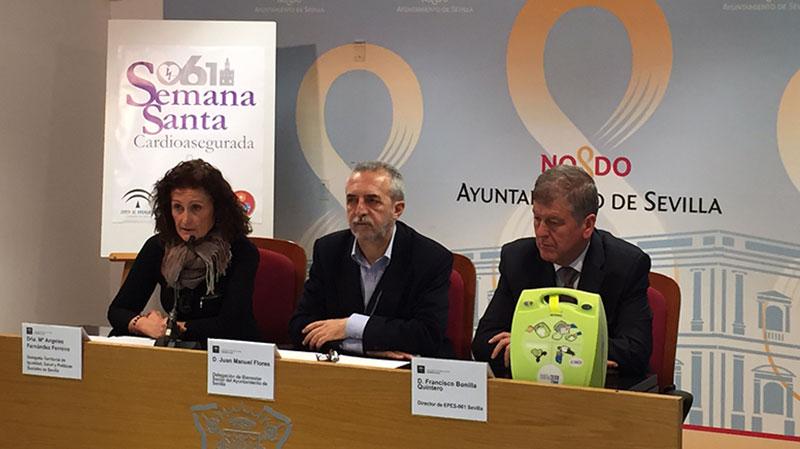 gCardio aporta seguridad a la Semana Santa. gCardio es distribuidor Oficial para España de desfibriladores la marca Zoll.